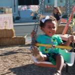 Alina's First Carnival Ride: Photo Memory