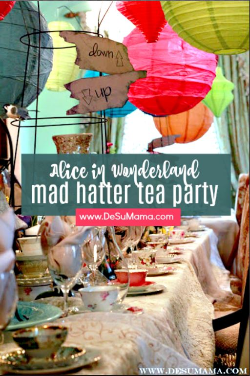the most beautiful mad hatters tea party weve ever seen this alice in