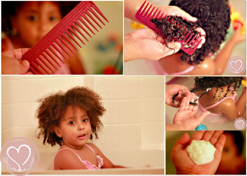 Curly Hair Toddlers Step By Step Curly Hair Guide