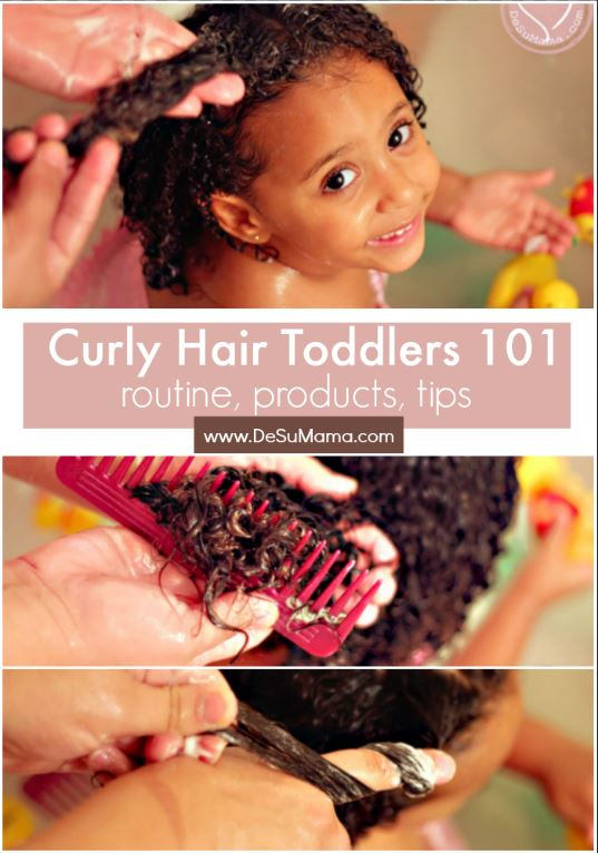 Curly Hair Toddlers Step By Step Curly Hair Guide Update 2019