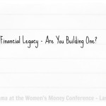 It's Time to Start Building Our Financial Legacy