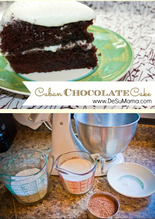 Favorite Cuban Desserts Chocolate Cake With Rum Frosting