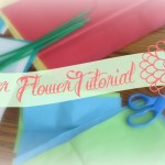 Easy Paper Flower Tutorial – Hispanic Heritage Month
