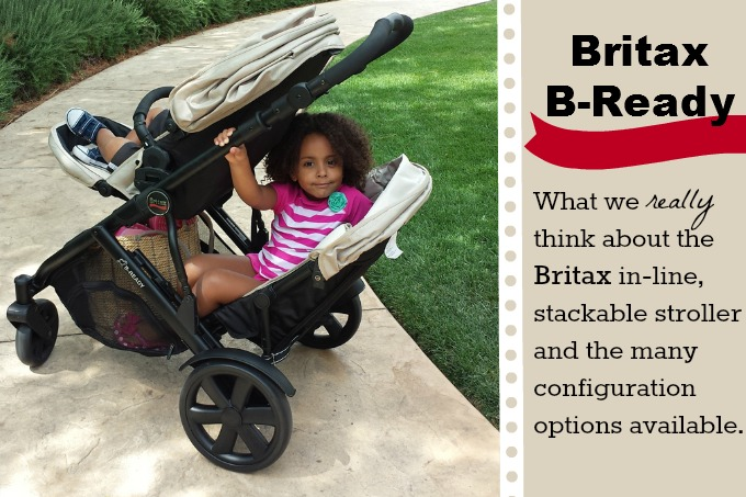 Britax B Ready Double Stroller Review Should You Stack Or Not