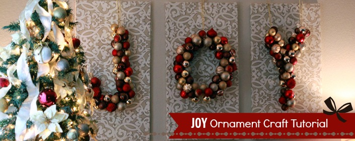 Inspired Home Decor Joy Ornament Craft For The Holidays
