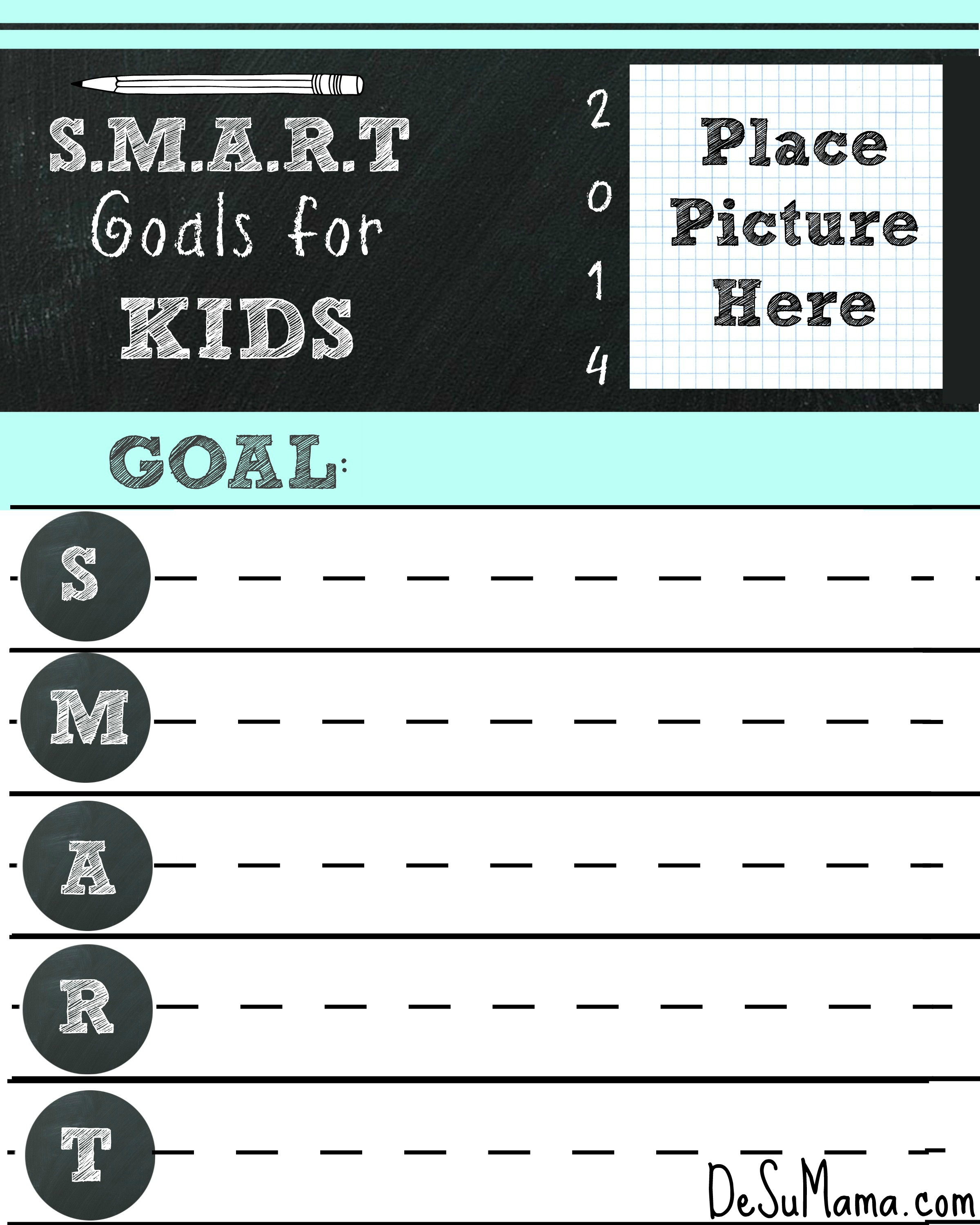 New Years Goal Setting for Kids the SMART Way