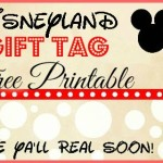 Alina's Disneyland Birthday: Celebrating at School + Free Gift Tag Printable