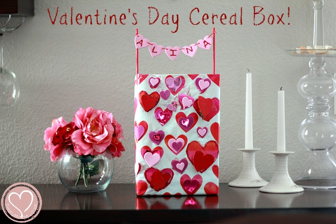 Easy Kids Valentines Box Using Stuff You Already Have