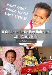 your guide to curly hair boy cuts little boy haircuts for