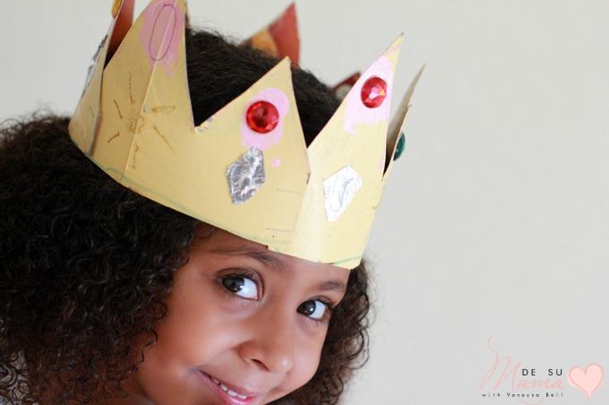 Three Kings Day Crown Craft For Kids De Su Mama
