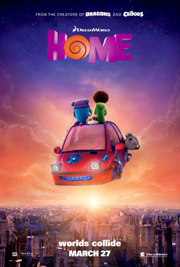 Dreamworks HOME Biracial Child Tip Do You Plan To See DreamWorks Home