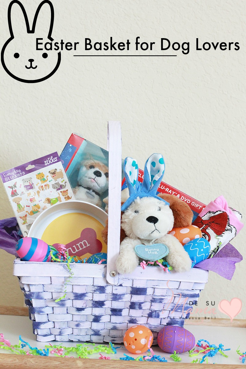 An annie inspired easter basket for dog lovers easter basket dog lovers annie movie dsm 3 negle Image collections