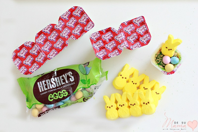 Easter Party Food And Playdate Ideas DIY Basket Pudding Snack