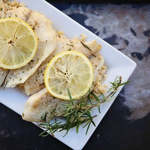 Lemon Rosemary Tilapia Recipes