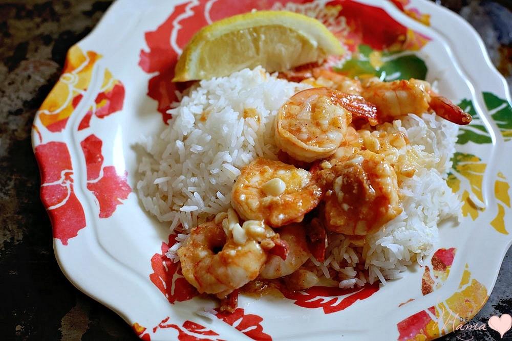 Hawaiian Food Truck Garlic Shrimp
