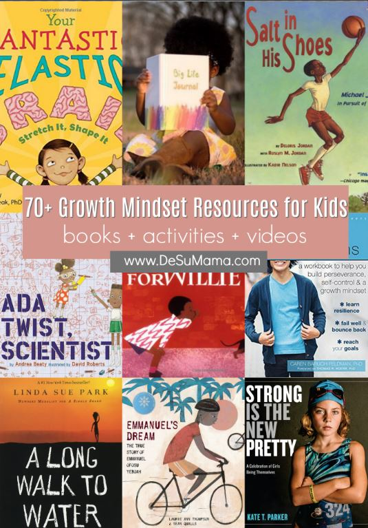 75 Growth Mindset Books Activities And Videos For Kids