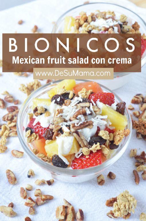 Bionicos Recipe Mexican Fruit Cups